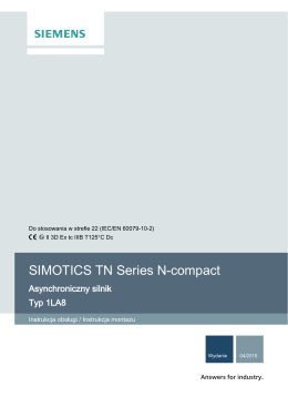 SIMOTICS TN Series N-compact - Siemens Industry Online Support