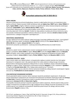 Komunikat sadowniczy SKS 14 2015-06-11