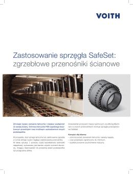 Zastosowanie sprzęgła SafeSet: zgrzebłowe przenośniki