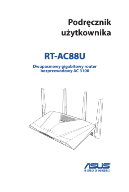 Podręcznik użytkownika RT-AC88U