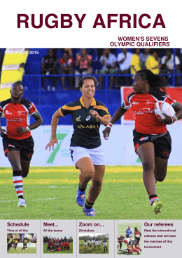 Womens Sevens Olympic Qualifier