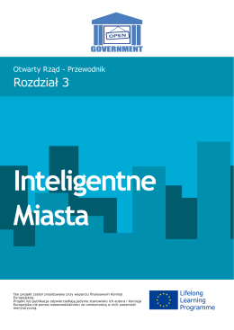 Rozdział 3 Inteligentne Miasta - EURO-IDEA