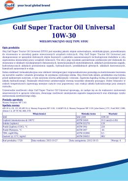 Gulf Super Tractor Oil Universal 10W-30