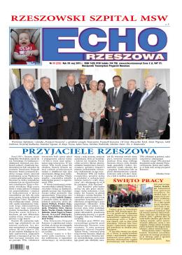RZESZOWSKI SZPITAL MSW - Echo Rzeszowa