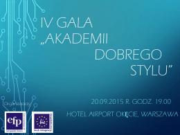 Letnia Gala Przedsiębiorców - Klub Integracji Europejskiej