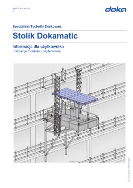 Informacja dla użytkownika (pl) Stolik Dokamatic