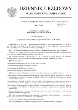Uchwała Nr 0007.150.2015 z dnia 17 listopada 2015 r.