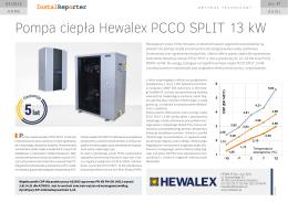 Pompa ciepła Hewalex PCCO SPLIT 13 kW | InstalReporter