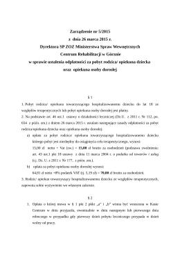 pobierz - BIP - SP ZOZ MSW Centrum Rehabilitacji w Górznie