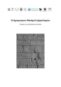 II Sympozjum Młodych Egiptologów