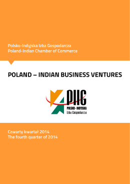 POLAND – INDIAN BUSINESS VENTURES