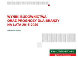 2. Wyniki budownictwa – H.Winczewska