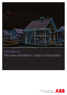 Kalasatama The new standard in urban construction