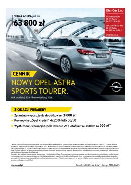 Astra V SportsTourer - Dixi-Car