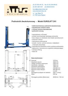 Eurolift Z41 prospekt CS4.indd