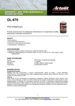OL-670 - Artelit