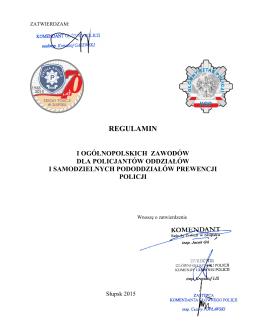 Regulamin () - Szkoła Policji w Słupsku