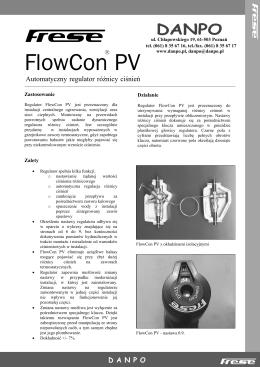 Katalog FlowCon PV