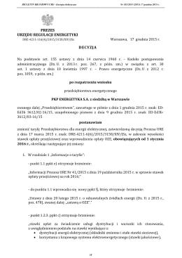 Papier firmowy - BIP - Urząd Regulacji Energetyki