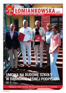 Gazeta Łomiankowska.pl nr 81 z 28 sierpnia 2015 (pdf 13,7 MB)