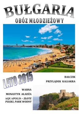 Bułgaria4STR - Złote Piaski - Hotel TINTYAVA-2015