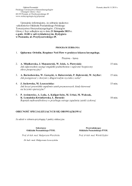 Tutaj można pobrać program zebrania w formacie PDF