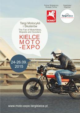Kielce Moto-Expo 2015 - folder