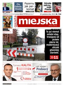Pazerny jak par- komat - GAZETA MIEJSKA Gliwice Zabrze