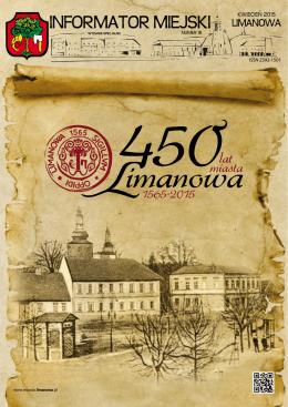 kwiecien 2015 - Miasto Limanowa