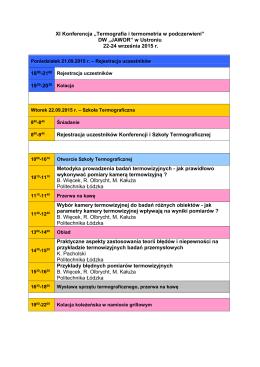 Pobierz program konferencji