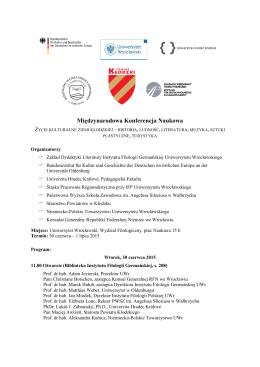 Międzynarodowa Konferencja Naukowa