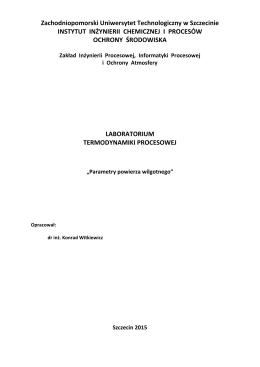 Instrukcja - Zachodniopomorski Uniwersytet Technologiczny w
