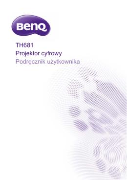 Instrukcja - BenQ TH681