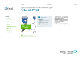Soliswitch FTE20