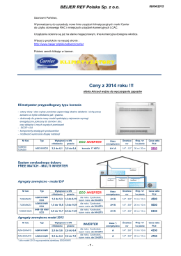 Cennik w PDF
