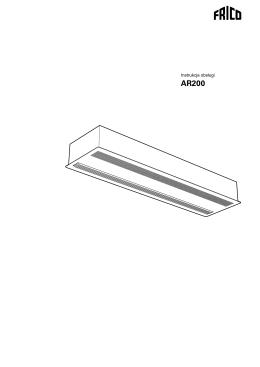 Instrukcja obsługi AR200