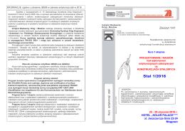 STAL 1_2016 - Broszura informacyjna - Mrągowo