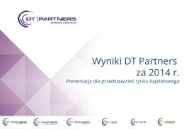 Prezentacja roczna DTP za rok 2014