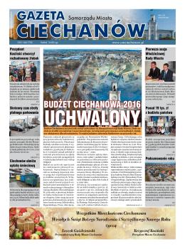 grudzień 2015 - Urząd Miasta Ciechanów