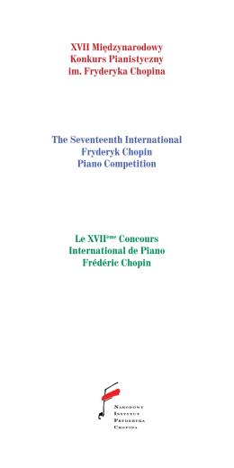 Règlement du Jury - Chopin Competition