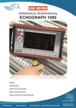 ulotka ECHOGRAPH 1095