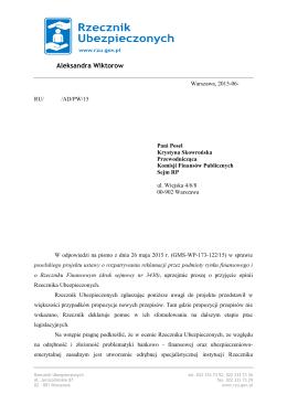 Warszawa 2002 - Rzecznik Finansowy