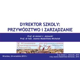 pobierz plik - Ogólnopolskie Stowarzyszenie Kadry Kierowniczej