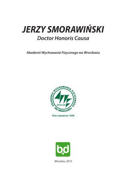 jerzy smorawiński - Akademia Wychowania Fizycznego we Wrocławiu