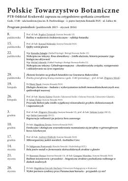 Polskie Towarzystwo Botaniczne