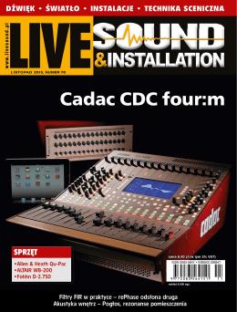 Live Sound & Installation, listopad 2015