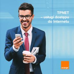 TPNET – usługi dostępu do Internetu - Operatorzy