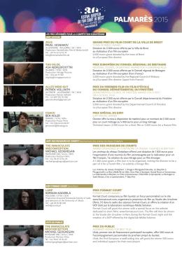 télécharger le pdf - Festival européen du film court de Brest