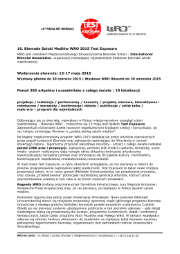 Program - Biblioteka Uniwersytecka we Wrocławiu
