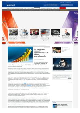 Tech.money.pl Na_światowym rynku IT spowolnienie a w Polsce